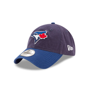 Toronto Blue Jays Core Classic Two Tone Adjustable Cap Navy by New Era