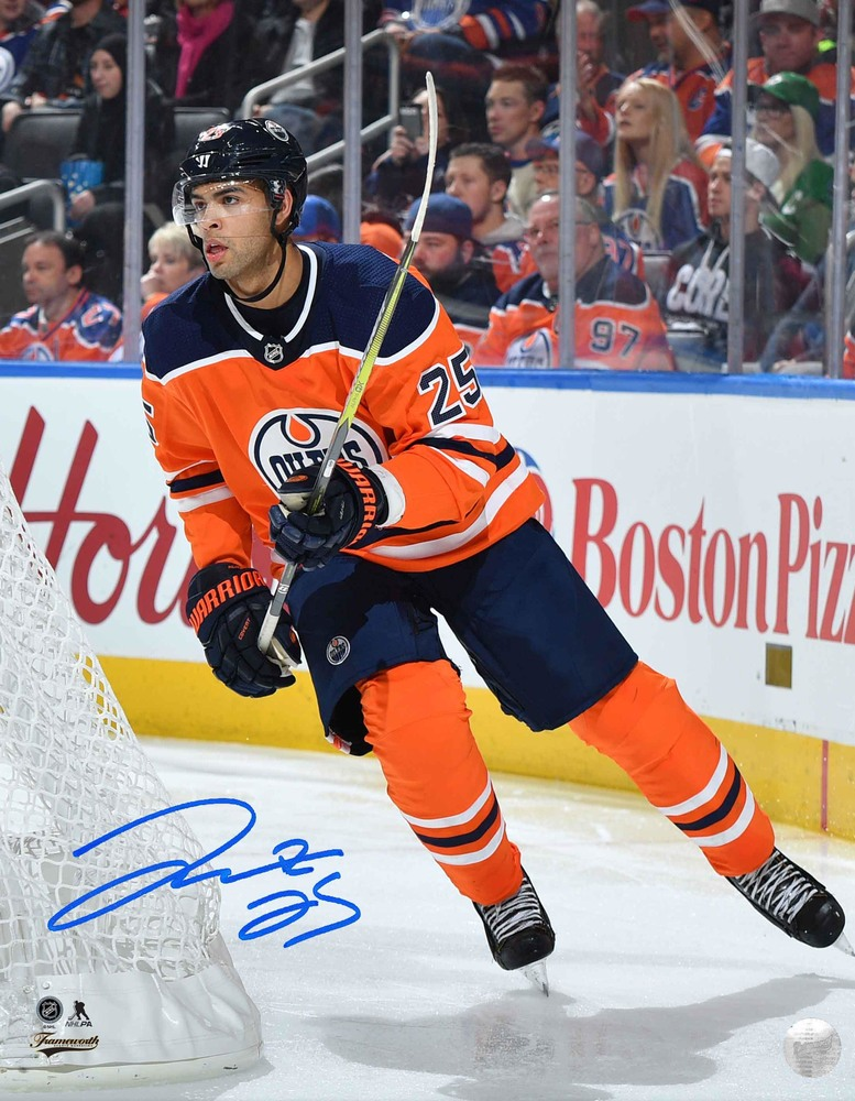 Darnell Nurse - Signed 8X10 Photo Oilers Orange Action