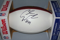 NFL - TEXANS CARLOS WATKINS SIGNED PANEL BALL