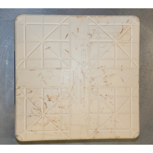 Photo of Game-Used Base: Second Base - Innings 6-9 (NYY at KC - 5/18/2017)