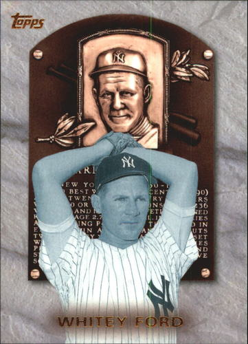 Photo of 1999 Topps Hall of Fame Collection #HOF8 Whitey Ford-- Hall of Fame Class of 1974