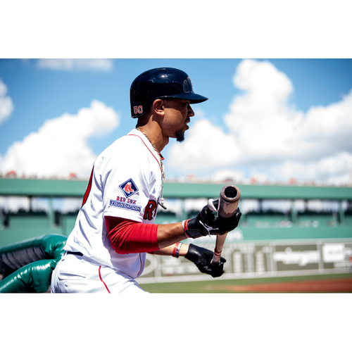 Photo of Red Sox Foundation Game Day - Mookie Betts Game-Used and Autographed Jersey