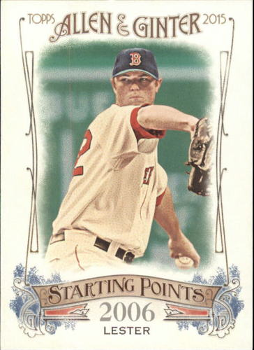 Photo of 2015 Topps Allen and Ginter Starting Points #SP15 Jon Lester