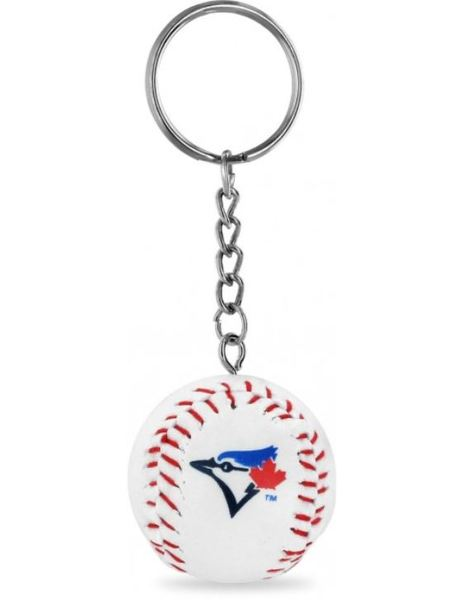 Toronto Blue Jays Leatherette Baseball Keychain by Aminco