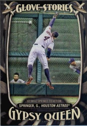 Photo of 2016 Topps Gypsy Queen Glove Stories #GS8 George Springer