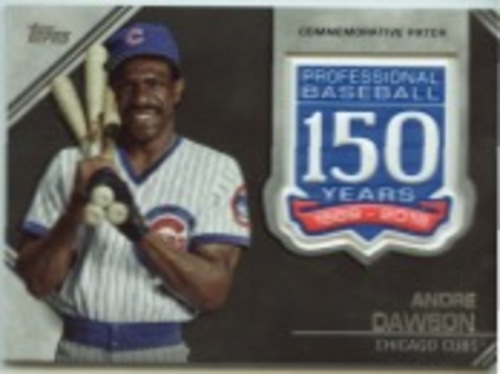 Photo of 2019 Topps Update 150th Anniversary Manufactured Patches #AMPAD Andre Dawson