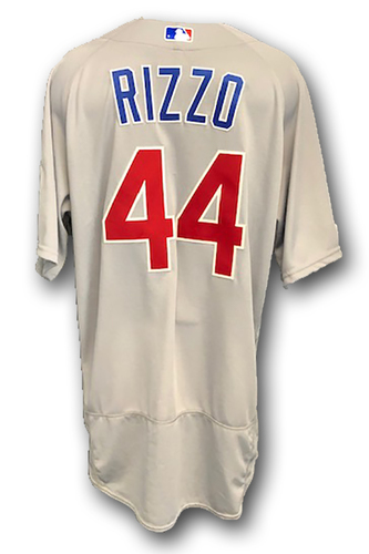 Photo of Anthony Rizzo Team-Issued Jersey -- 2019 Season -- Size 50