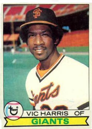 Photo of 1979 Topps #338 Vic Harris