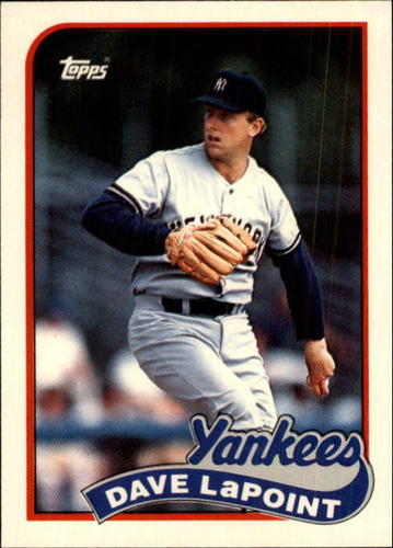 Photo of 1989 Topps Traded #67T Dave LaPoint