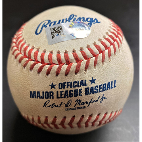 Photo of Game-Used Baseball:  Harold Castro Detroit Tigers RBI Single (MLB AUTHENTICATED)