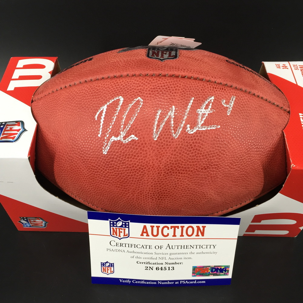 PCC - Texans Deshaun Watson Signed Authentic Football