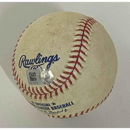 Photo of Game-Used Baseball - Cesar Hernandez Single 8/22/20