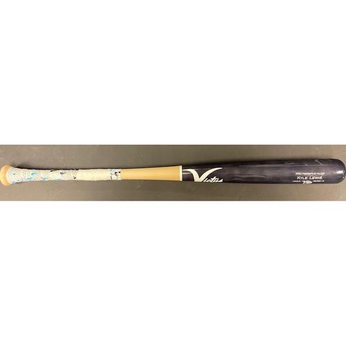 Photo of Kyle Lewis Game Used Broken Bat (LAA @SEA 5/1/21)