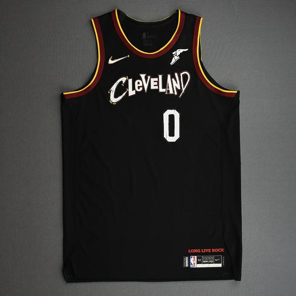 Image of Kevin Love - Cleveland Cavaliers - Game-Worn City Edition Jersey - 2nd Half - 2020-21 NBA Season