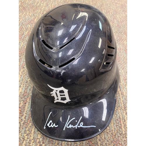 Photo of Ian Kinsler Autographed Detroit Tigers Home Batting Helmet (MLB AUTHENTICATED)