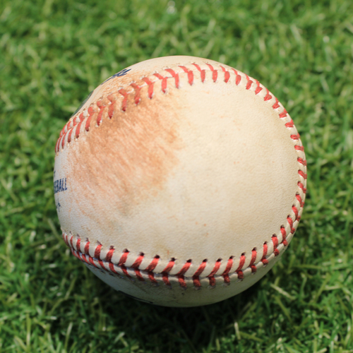 Photo of Game-Used Baseball: Alejandro Kirk 3rd Career Double & 6th Career RBI (TOR@KC 4/17/21 Game 2)