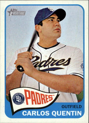 Photo of 2014 Topps Heritage #291 Carlos Quentin