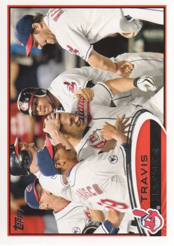 Photo of 2012 Topps #569 Travis Hafner