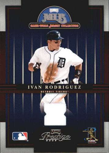 Photo of 2005 Playoff Prestige Playoff MLB Game-Worn Jersey Collection #7 Ivan Rodriguez