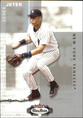 Photo of 2002 Fleer Box Score Classic Miniatures #1 Derek Jeter