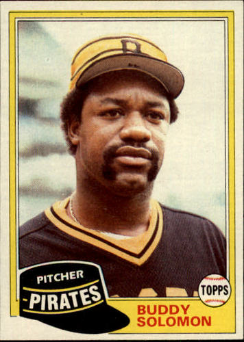 Photo of 1981 Topps #298 Buddy Solomon