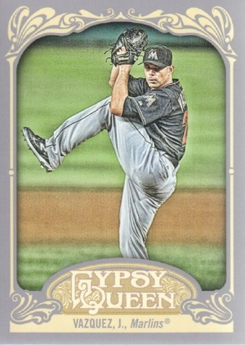 Photo of 2012 Topps Gypsy Queen #221 Javier Vazquez
