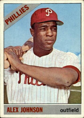 Photo of 1966 Topps #104A Alex Johnson TR