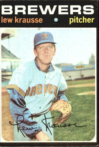 Photo of 1971 Topps #372 Lew Krausse