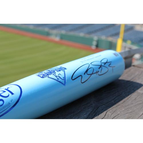 Alex Gordon Autographed Bat