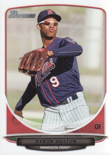 Photo of 2013 Bowman Draft Top Prospects #TP1 Byron Buxton Pre-Rookie Card