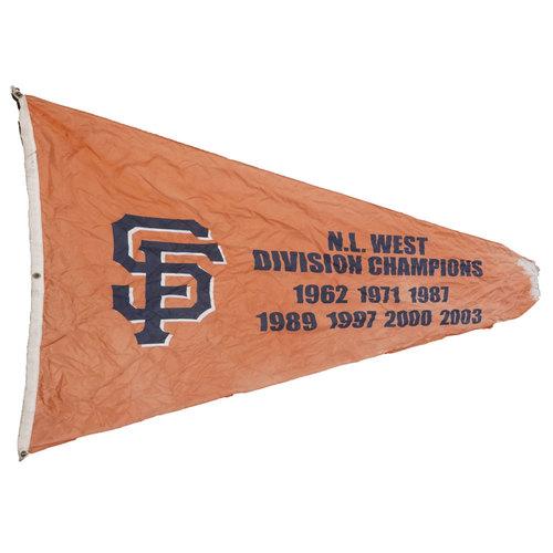 San Francisco Giants - Stadium Flag - National League West Division Champions