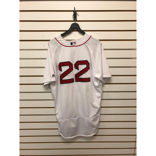 Photo of Rick Porcello Game-Used June 28, 2017 Home Jersey