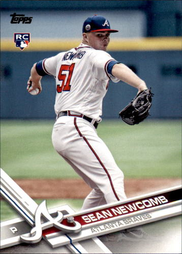 Photo of 2017 Topps Update #US162A Sean Newcomb Rookie Card