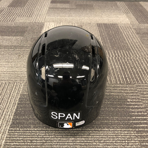 Photo of 2017 Game Used Spring Training Batting Helmet - worn by #2 Denard Span - Left Handed Helmet - Size 7 1/2