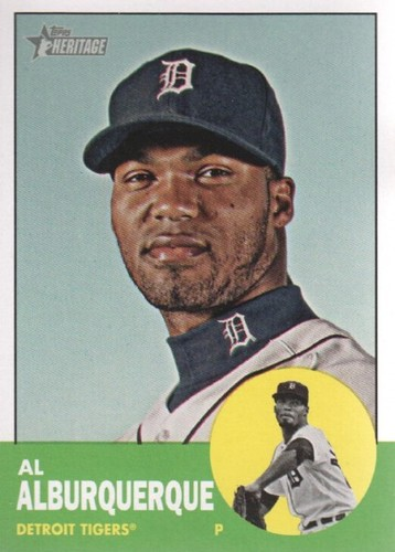 Photo of 2012 Topps Heritage #406 Al Alburquerque