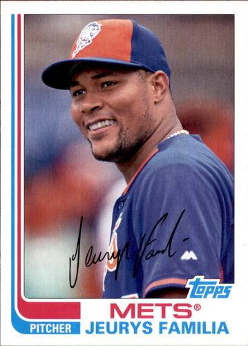 Photo of 2017 Topps Archives #189 Jeurys Familia