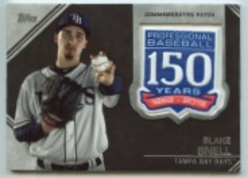 Photo of 2019 Topps Update 150th Anniversary Manufactured Patches #AMPBS Blake Snell