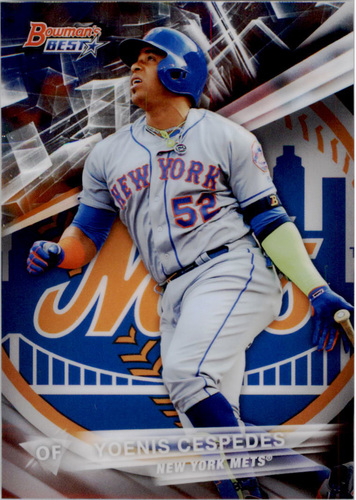 Photo of 2016 Bowman's Best #47 Yoenis Cespedes