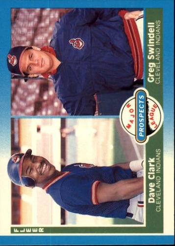 Photo of 1987 Fleer #644 Dave Clark RC/Greg Swindell RC
