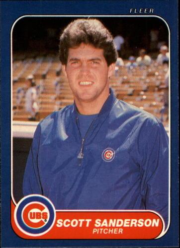 Photo of 1986 Fleer #379 Scott Sanderson