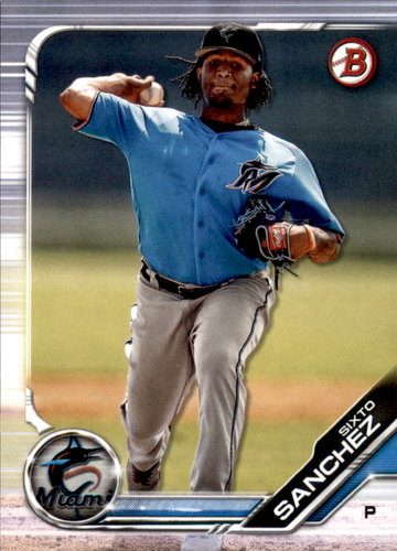 Photo of 2019 Bowman Draft #BD89 Sixto Sanchez