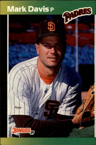 Photo of 1989 Donruss #65 Mark Davis