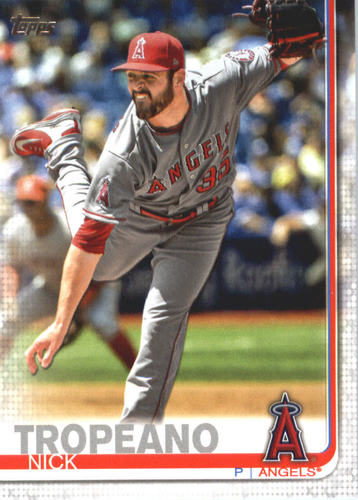 Photo of 2019 Topps #615 Nick Tropeano