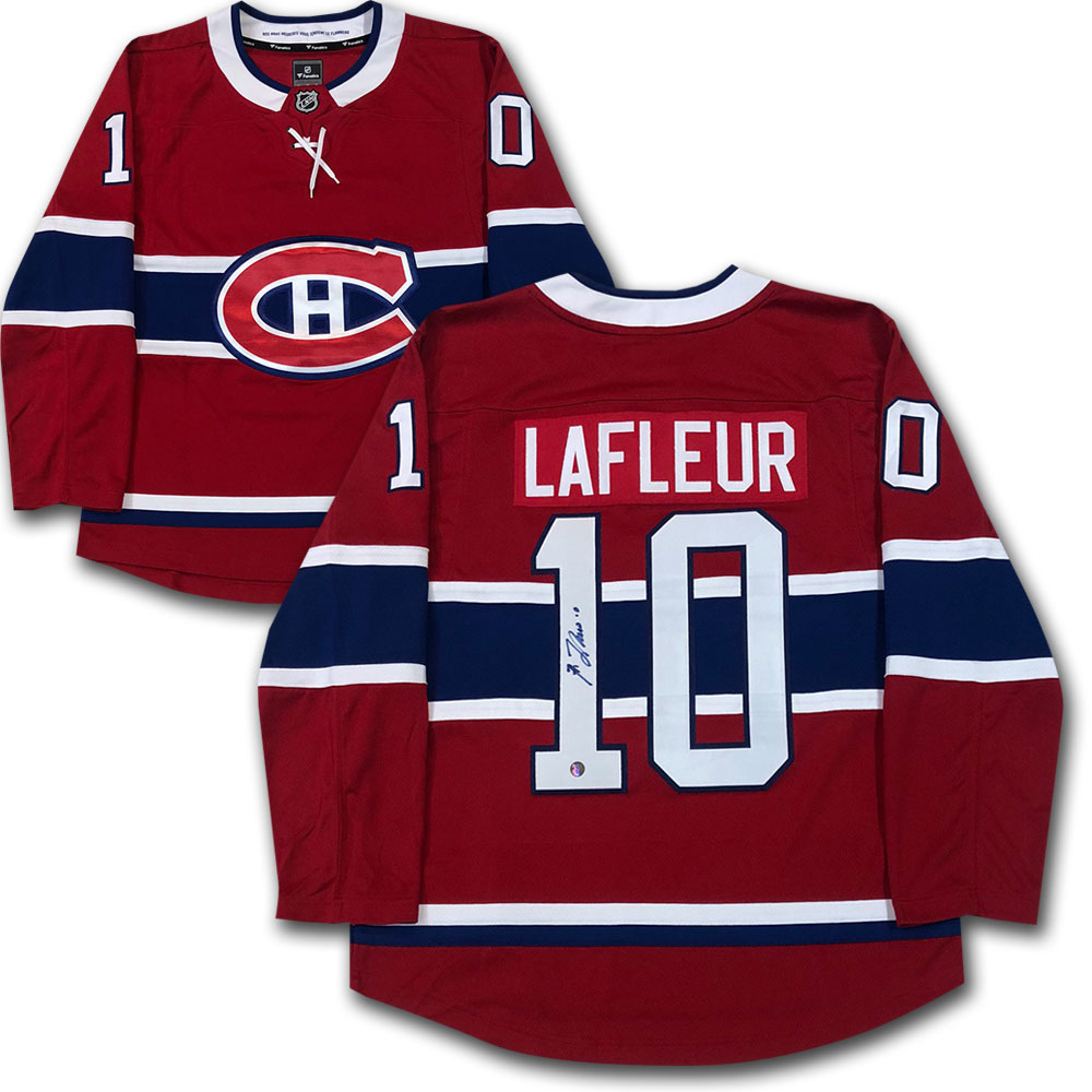 Guy Lafleur Autographed Montreal Canadiens Jersey