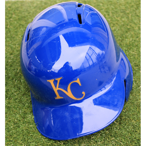Photo of Team-Issued Helmet: Adalberto Mondesi (Size - 7 1/2)
