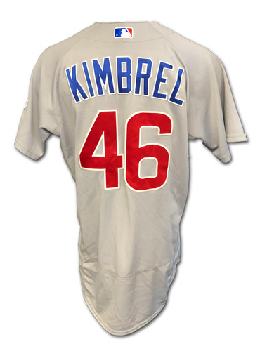 Photo of Craig Kimbrel Team-Issued Jersey -- 2020 Season -- Size 44C