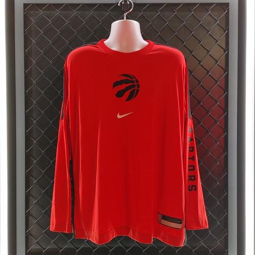 2020-21 Player Worn Red Long-Sleeve Shooting Shirts