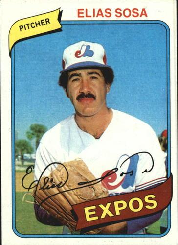 Photo of 1980 Topps #293 Elias Sosa