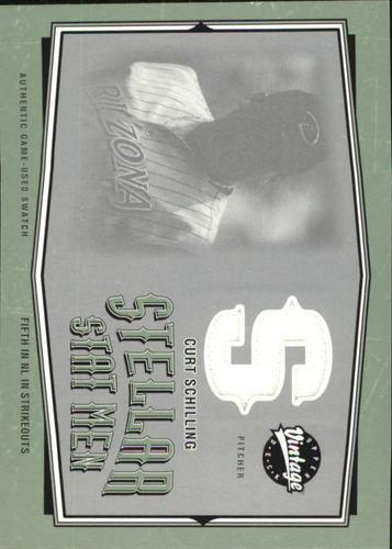 Photo of 2004 Upper Deck Vintage Stellar Stat Men Jerseys #29 Curt Schilling