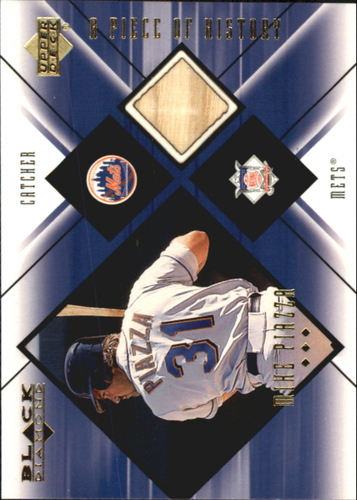 Photo of 2000 Black Diamond A Piece of History #MP Mike Piazza